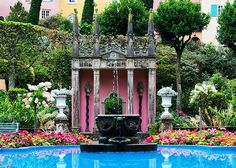 Portmeirion Gardens, Portmeirion, North Wales by pbrian49