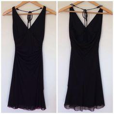 Hp Classic Halter Little Black Dress