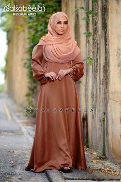 Muslimah Mocha Dress