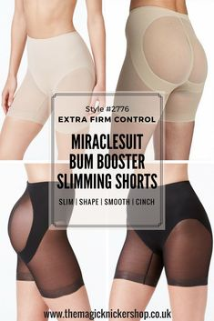 be10973b070 Miraclesuit Sexy Sheer Waistline Bum Booster Shorts  2776. The Magic  Knicker Shop. Best SpanxFirm Control ShapewearShort ...