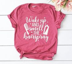 Your place to buy and sell all things handmade Vinyl Shirts, Custom Shirts, Work Shirts, Cool T Shirts, Hair Stylist Shirts, Salon Style, Christmas Shirts, Christmas Sayings, Diy Shirt