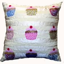 applique on cushions - Google Search