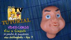 #VIDEO #CORSO: #Visi e #capelli in #pdz - #Viso dettagliato - tipo 7