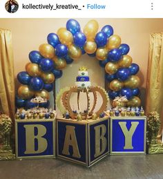 Royal Prince Babyshower