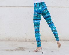 Colorful  high waist  leggings color listing 1 by Michalfilmar