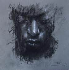 Secrets Of Drawing Most Realistic Pencil Portraits - - Guy Denning - Dreaming of Someone Elses Death Mask Secrets Of Drawing Realistic Pencil Portraits - Discover The Secrets Of Drawing Realistic Pencil Portraits Charcoal Portraits, Charcoal Art, Charcoal Drawing, Pencil Portrait, Portrait Art, Figure Painting, Painting & Drawing, Art Drawings, Drawing Sketches
