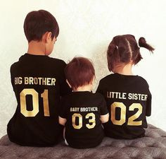 baby, sister, and big brother<3