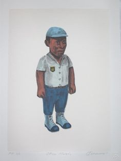 Claudette Schreuders, 'Officer Molefe', Chine Colle Lithograph, 33 x 23.4cm, 2007.
