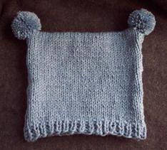 free toddler hat knitting pattern from Craft Elf