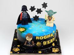 Lego Star Wars Birthday Cake, London Patisserie http://www.pinkcakeland.co.uk