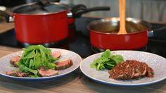 Rosbife com Salada, uma receita leve e saborosa para o seu cardápio do dia a dia.