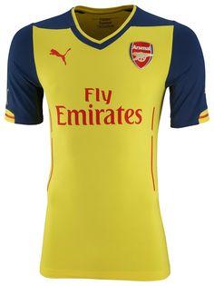 Arsenal 14-15 (2014-15) Puma Home, Away, Third Kits Released - Footy Headlines
