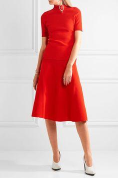 Victoria Beckham top and skirt
