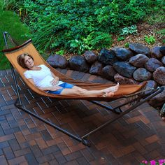 Ez-cozy Portable Hammock With Stand