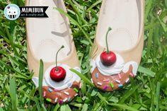 Ice Cream Shoes Flats Shoe Bakery Custom Available by mimibun