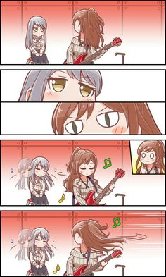 Yukina, Lisa, Rinko 2 parte Miss Kobayashi's Dragon Maid, Flying Witch, Girls Frontline, Felder, Asuna, Comics Girls, Girl Bands, Manga Games, Anime Art Girl