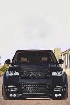 Black Range Rover its my byby Cars Land, Suv Cars, Car Car, Range Rover Svr, Range Rover Black, Range Rover Supercharged, Dropped Trucks, Mercedez Benz, Jaguar Land Rover