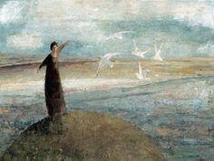 David Brayne(British, b.1954)  Grey Gulls 2008