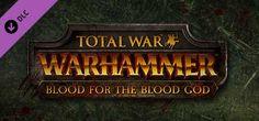 """Pack """"Blood For The Blood God"""" de Total War : Warhammer - Le Vieux Monde est déchiré par les innombrables batailles menées jusqu'ici. Vivez à présent un nouveau carnage avec l'arrivée du DLC Blood For The Blood God (Du sang pour le Dieu du Sang) !..."""