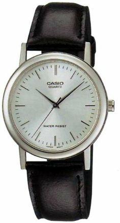 Casio Men's MTP1095E-7A Black Leather Quartz Watch with Silver Dial by Casio, http://www.amazon.com/dp/B002DQABF8/ref=cm_sw_r_pi_dp_sW9frb0TR4ZVZ
