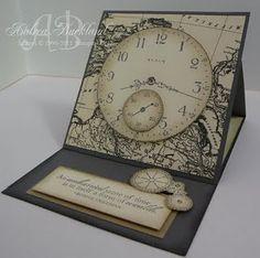 Clock card, SENCE OF TIME, masculine