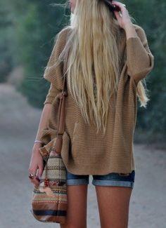 Her hair.