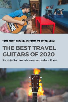 A travel guitar is a great way to take the tunes on the road with you. Whether you are jamming by a bonfire or playing tunes for new friends at a hostel you are going to need a travel guitar. Packing Tips For Travel, Budget Travel, Must Have Travel Accessories, Guitar Reviews, Baby Taylor, Guitar Case, New Friends, Traveling By Yourself, Budgeting