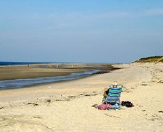 Cold Storage Beach in Dennis on the Bay Side of Cape Cod Beaches