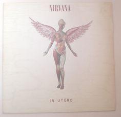 Verita's Sound And Vision: Vinil Nacional Nirvana In Utero - 1993