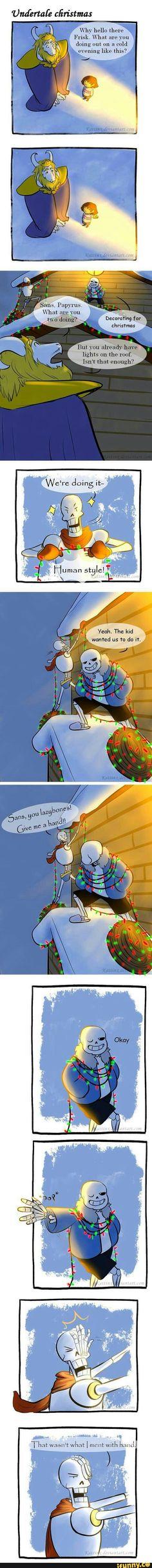 undertale, christmas