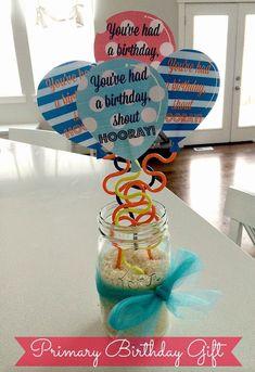 Primary Balloon Birthday Gifts & Primary Balloon Birthday Gifts & The post Primary Balloon Birthday Gifts & appeared first on Birthday. Primary Program, Lds Primary, Primary Music, Primary Activities, Primary Lessons, Best Birthday Gifts, Birthday Diy, Birthday Ideas, Birthday Cards