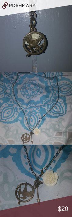 Hunger Games Necklace Hunger Games Necklace Jewelry Necklaces