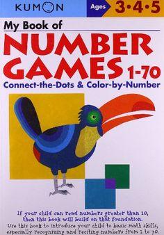 My Book Of Number Games 1-70 (Kumon Workbooks) by Shinobu Akaishi http://www.amazon.com/dp/4774307599/ref=cm_sw_r_pi_dp_vcsiub1ZCA1PY