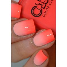 33 Fresh Summer Nail Designs for 2017 ❤ liked on Polyvore featuring beauty products and nail care