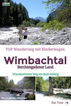 Wimbachtal hike - Berchtesgadener Land - KiMaPa- Wimbachtal Wanderung – Berchtesgadener Land – KiMaPa Wimbachtal in the Berchtesgadener Land – wonderful hike with children or prams along the stream. Tent Camping, Camping Hacks, Backpacking Boots, Colorado Hiking, Blog Love, Tall Ships, Business Travel, Travel With Kids, Hiking Trails