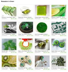 """""""Relaxation in Green"""" A Treasury for the PromoFrenzy Team by @KatersAcres"""