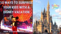 Are you giving the gift of a Disney vacation this holiday season? We have 10 ideas you can use to reveal the big surprise to your family. #DisneyVacation #surprise #surprisevacation #DisneyWorld #Disneyland #DisneyCruise #DisneyCruiseLine #familyvacation #travelwithkids #familytravel #holidays