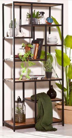 Welded Furniture, Steel Furniture, Home Furniture, Interior Exterior, Interior Design, Retail Shelving, Ikea, Home And Deco, Ladder Bookcase