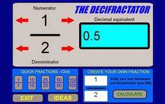 Conversor de cualquier tipo de fraccion a número dedimal