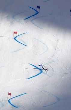 Marcel Hirscher of Austria competes during the Audi FIS Alpine Ski World Cup