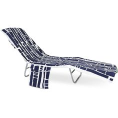 Monogrammed Bamboo Navy Blue Terry Towel Lounge Chair Cover... ($43) ❤  Liked On Polyvore Featuring Home, Bed U0026 Bath, Bath, Beach Towels, Bathroom,  ...
