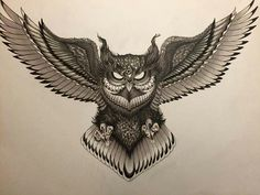 Owl butterfly tattoo tattoo for men for men meaningful for men on chest Owl Neck Tattoo, Owl Tattoo Chest, Neck Tattoo For Guys, Chest Piece Tattoos, Body Art Tattoos, Sleeve Tattoos, Owl Tattoo Drawings, Tattoo Sketches, Owl Tattoos