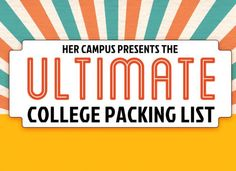 What to Bring to Uni: The Best University Packing List EVER #college #university #freshers