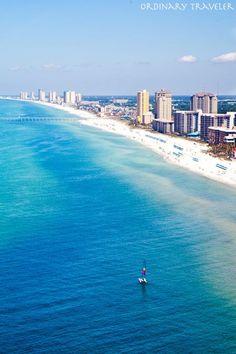 Aerial View of Panama City Beach