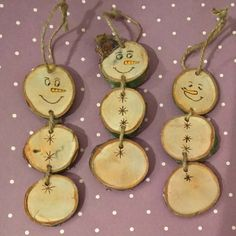 #snowmen hanging wooden decoration. 3 each. #christmas #wood #decoration #hangingdecoration #handmade #lovehandmade #shopping #shoplocal #petersfield #smallbiz