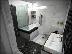 kleine badkamer inspiratie 1