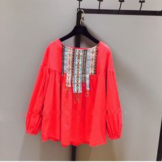 Find More Blouses & Shirts Information about 2016 hot selling women's casual big plus size puff sleeve top blouses girls summer fashion white tops lady red girls shirts H743,High Quality shirt,China shirt clearance Suppliers, Cheap shirt milan from Online Bontique on Aliexpress.com