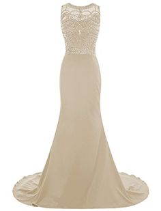 Dresstells® Long Chiffon Mermaid Scoop Prom Dress with Beading Wedding Dress Maxi Dress Dresstells http://www.amazon.co.uk/dp/B019BUZK8G/ref=cm_sw_r_pi_dp_EB2Iwb0784BXS