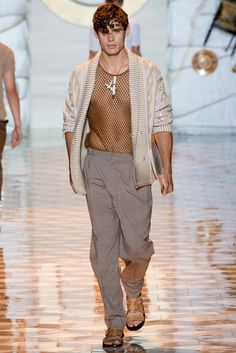 Versace Spring Summer 2015 Menswear - Collection - Gallery - Style.com