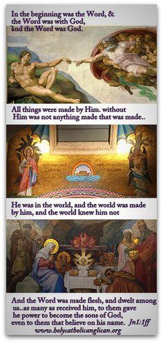 God's Word is Jesus Christ the Son of the Living God | Godinterest